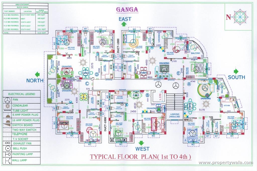 Ganga Floor Plan - B